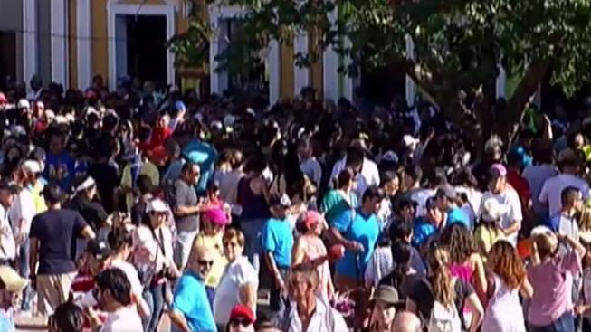 Cierran el acceso vehicular al Viejo San Juan