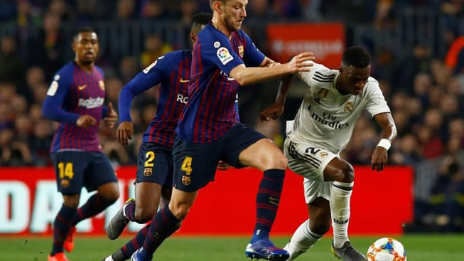 Empatan Barcelona y Real Madrid en semifinales de la Copa del Rey