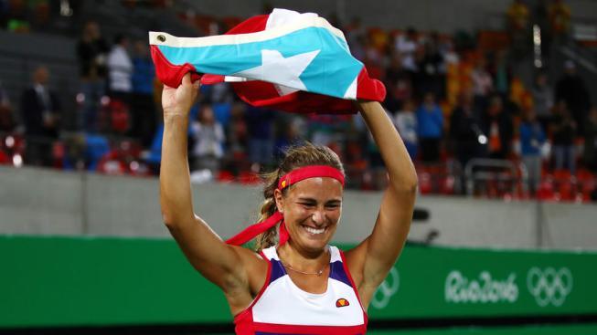 Mónica Puig enfrentará a Sharapova en Puerto Rico