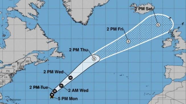 Sistema Óscar, el octavo huracán de la temporada