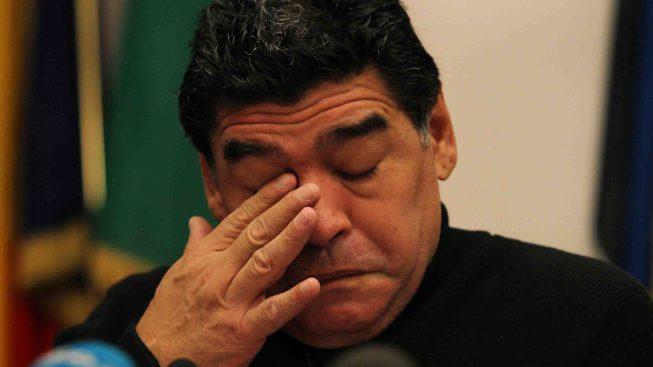Maradona es dado de alta tras operación por sangrado estomacal