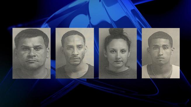 Radican cargos contra cuatro personas por drogas