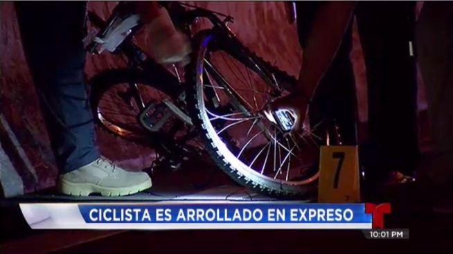 "Ciclista muere tras accidente ""hit and run"""
