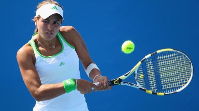 Mónica Puig debuta y se despide en el US Open