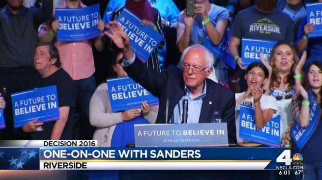 Encuesta revela Sanders ganaría a Trump y a Clinton