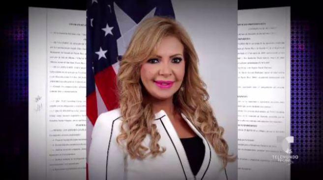Senado cancela contrato de empresa en la que trabaja esposo de Evelyn Vázquez