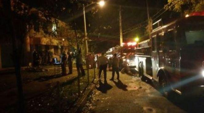 Fuego en salón de UPR de Mayagüez