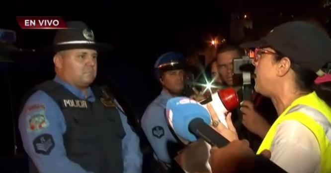 [TLMD - PR] Cara a cara: Abogada confronta a policía