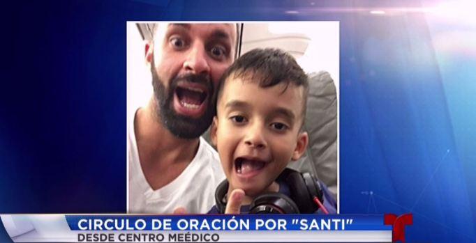 Fotos: El gran Santi necesita ayuda para combatir tumor cerebral
