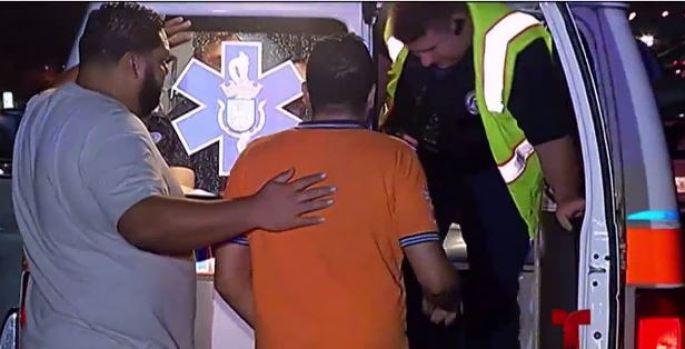 Grave joven impactado por vehículo en el expreso