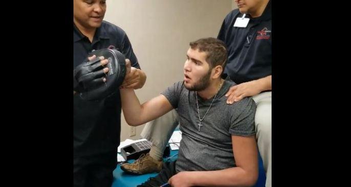 Continúa el progreso del exboxeador  Prichard Colón