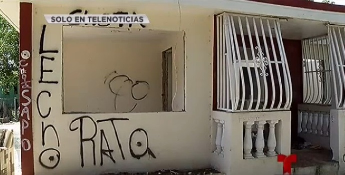 [TLMD - PR] Narcos destruyen hogar en Vega Baja