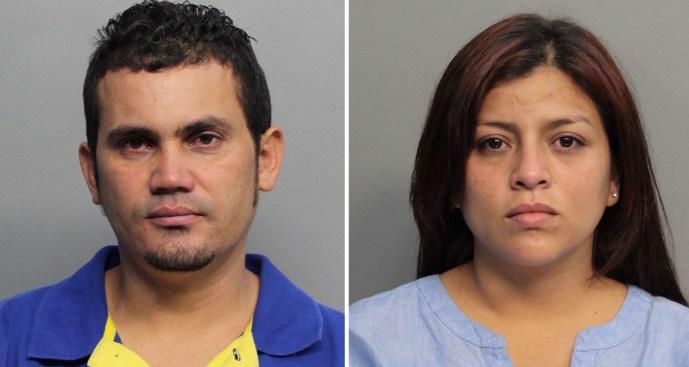 Padres golpean a su hijo en centro comercial de Miami