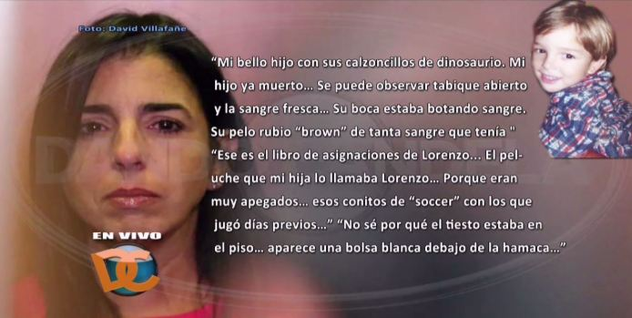 El desgarrador testimonio de Ana Cacho