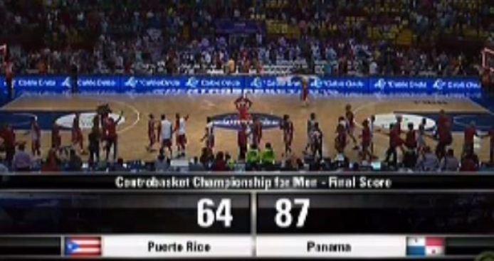 Panamá se lleva la victoria sobre Puerto Rico