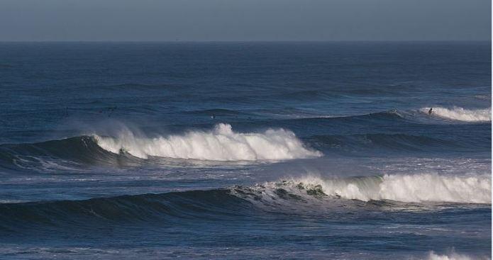 ¡Precaución!  Advierten sobre peligro costero