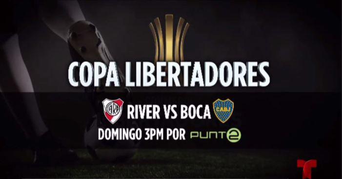 Copa Libertadores: River VS Boca por Punto 2