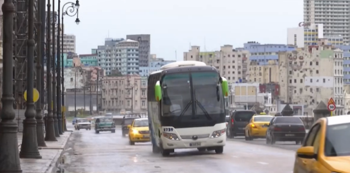 [TLMD - MIA] Precipitaciones moderadas en Cuba por tormenta Alberto