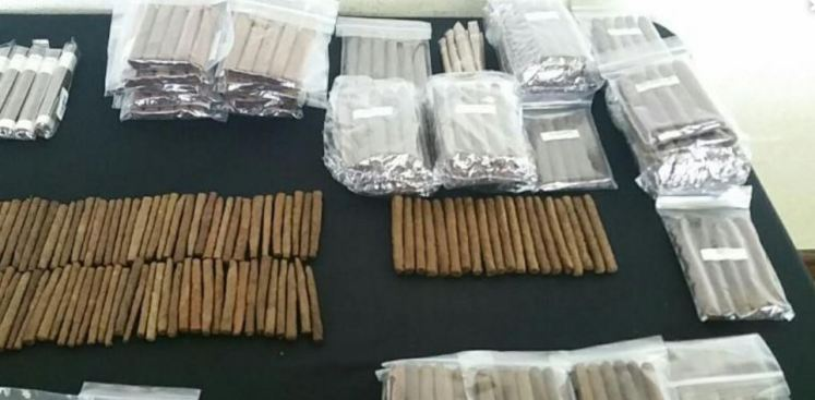 Ocupan cigarrillos ilegales e impone multas a negocios