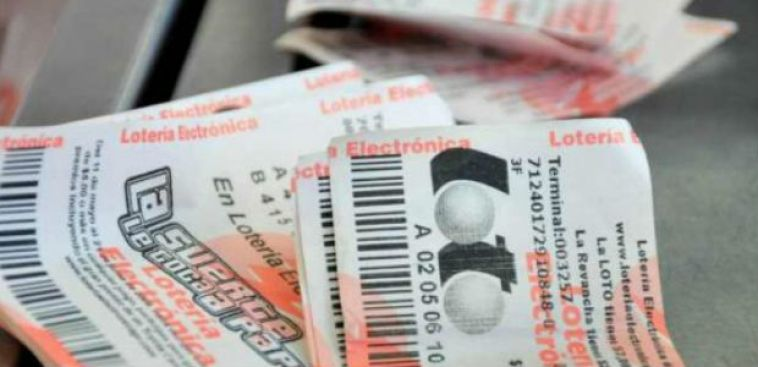 Números ganadores de la Lotería Electrónica