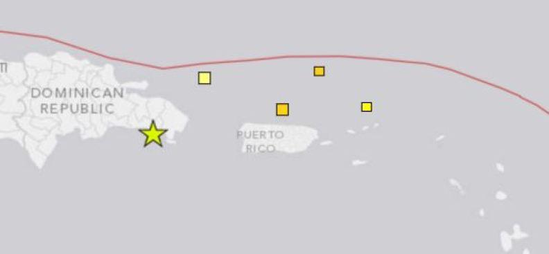 Se registra temblor en Mayagüez